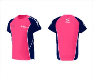 SWAC横浜オリジナル半袖Tシャツ(ピンク)原本